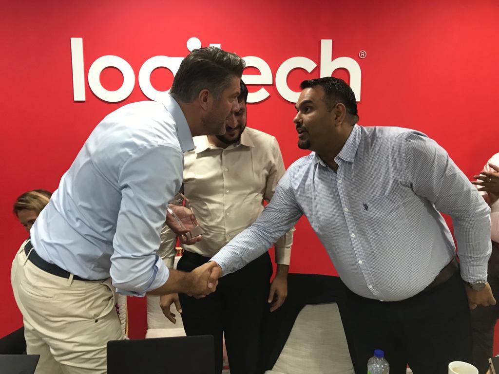 Best Distributor Award 2019 - 2020 by Logitech