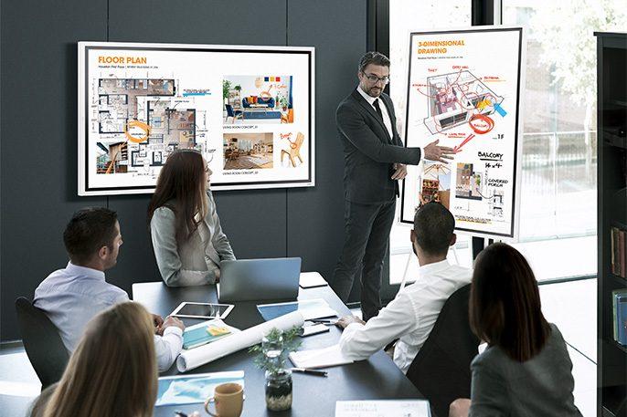Interactive Flat Panel Displays