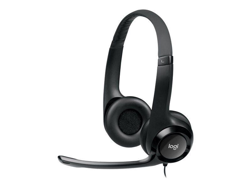 Logitech noise-cancelling headset H390