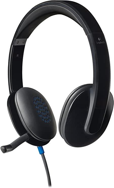 Logitech noise-cancelling headset H540