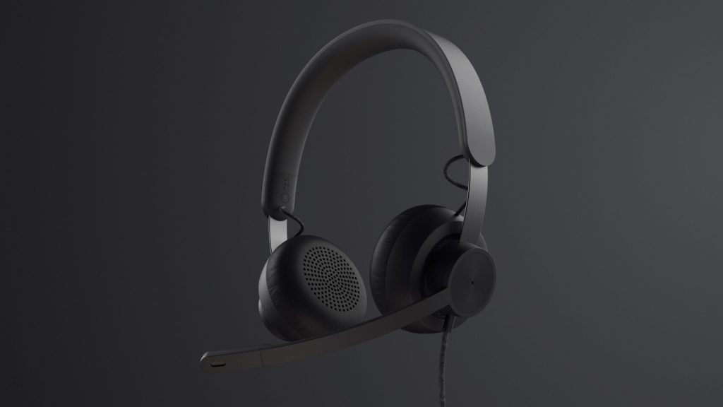 Logitech noise-cancelling headset Zone Wired