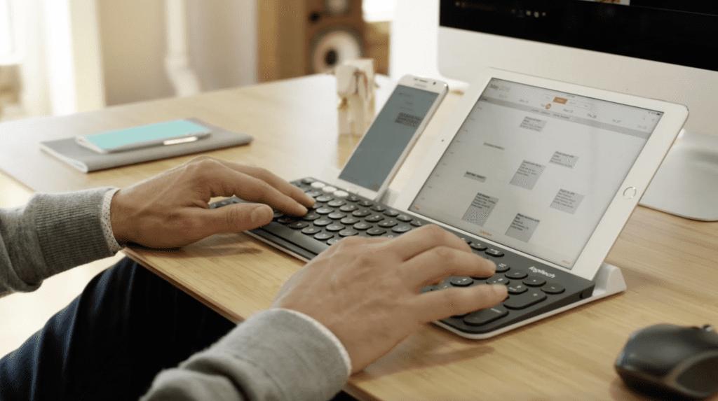 Logitech multi device keyboard